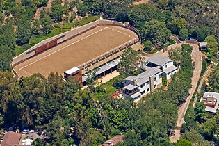 Equine private residence, Pacific Paliades, CA, steven speilberg kate capshaw