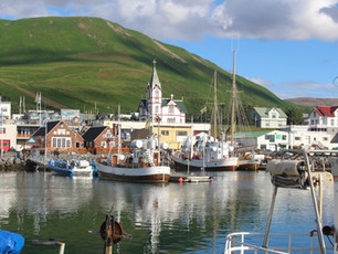Iceland's Arctic Henge, the thriving fishing village of Husavik