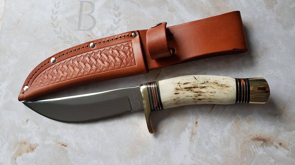 Bianco Instruments Custom Bone Handle Hunting Knife