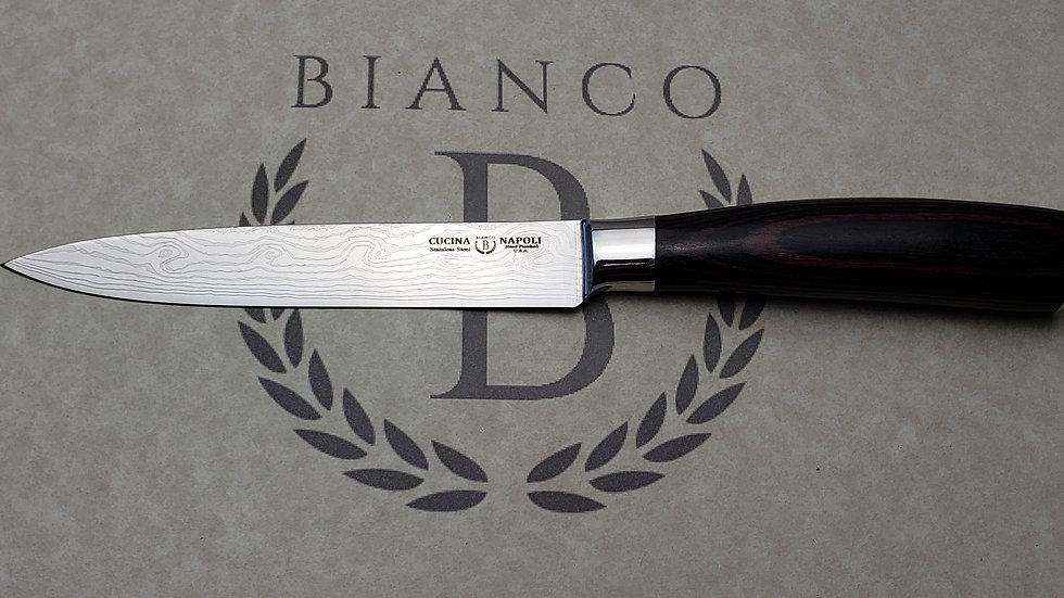 Cucina Napoli Damascus Print Steak Knives