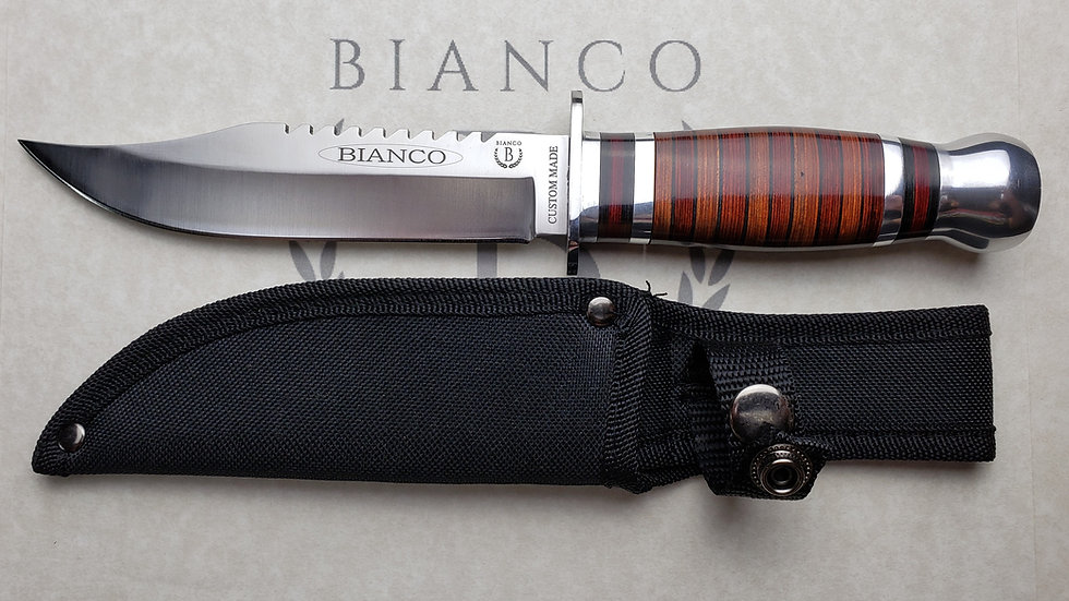 Bianco Custom Made Hunting Knife