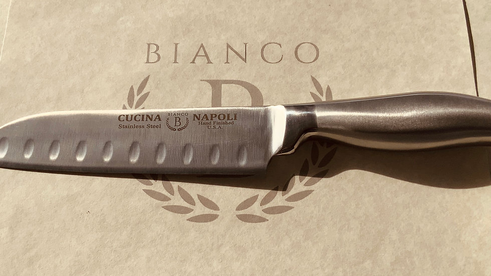 """CUCINA NAPOLI 7"""" DROP POINT CHEF'S KNIFE"""