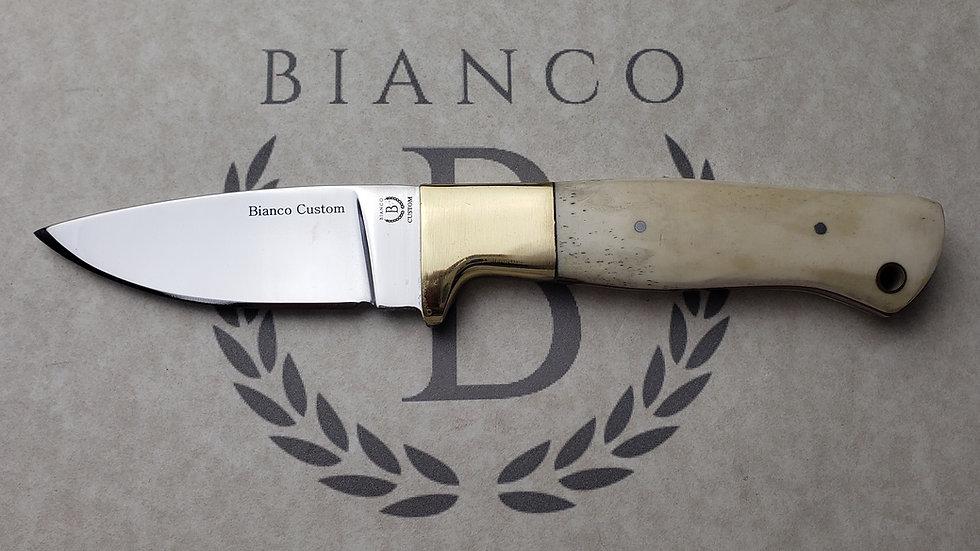 """Bianco Custom 3.5"""" Blade Bone Handle Hunting Knife"""