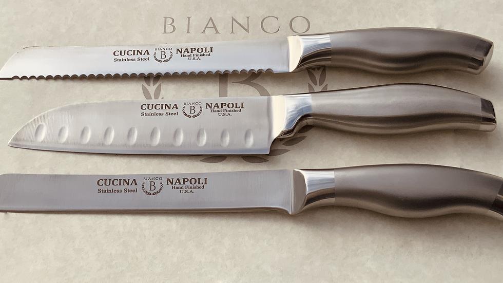 Cucina Napoli 3 Piece Knife set