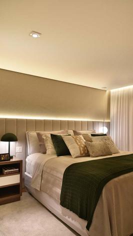 Dormitório - Suite Master - Bersouza Engenharia