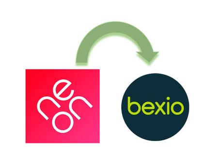 neon Bank Kontoauszug in bexio importieren ↪️