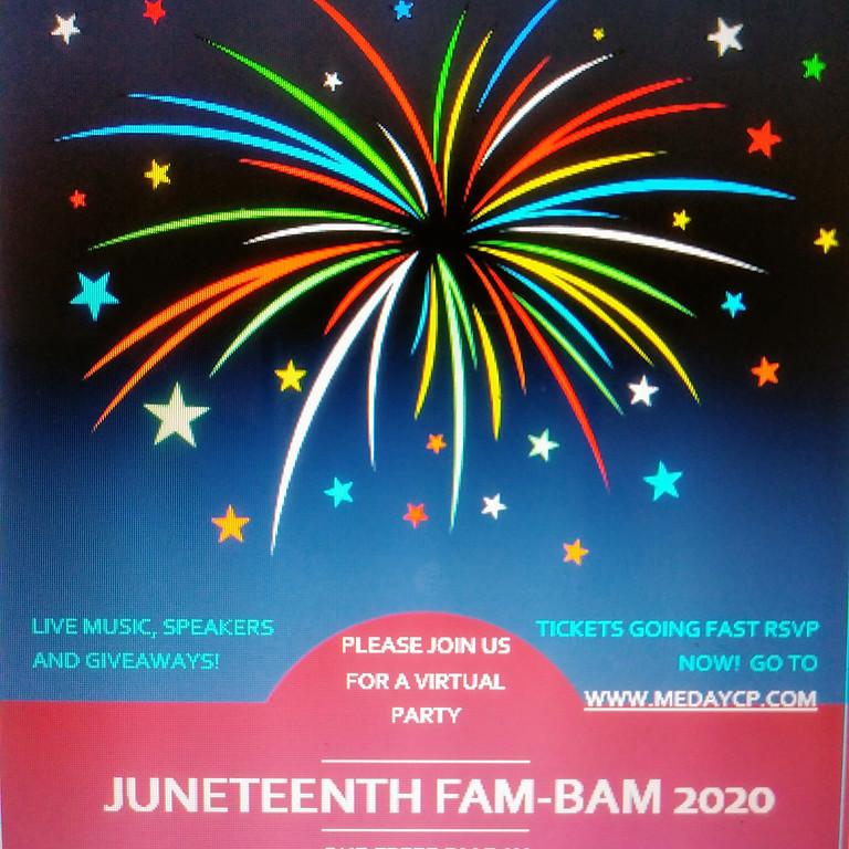 Juneteenth Fam-Bam 2020 Rebroadcast