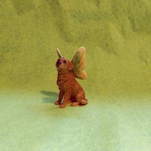Figurine - Fairy Dog