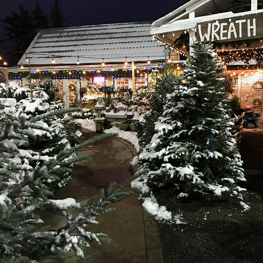 Christmas In The Woods Open House!