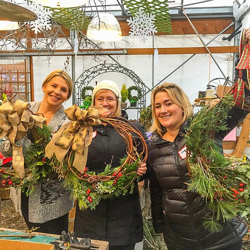 European Grapevine Wreaths. FULL