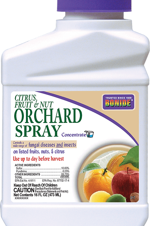 Bonide Citrus, Fruit & Nut Orchard Spray Concentrate