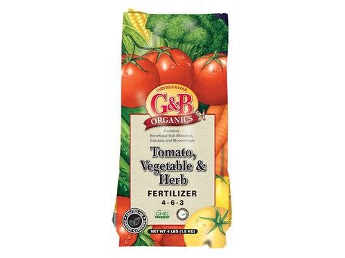 G&B Tomato,Vegetable & Herb Fertilizer