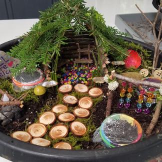 Francine's Fairy Garden