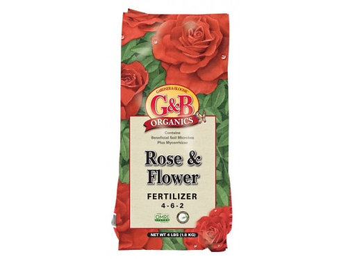 G&B Rose & Flower Fertilizer
