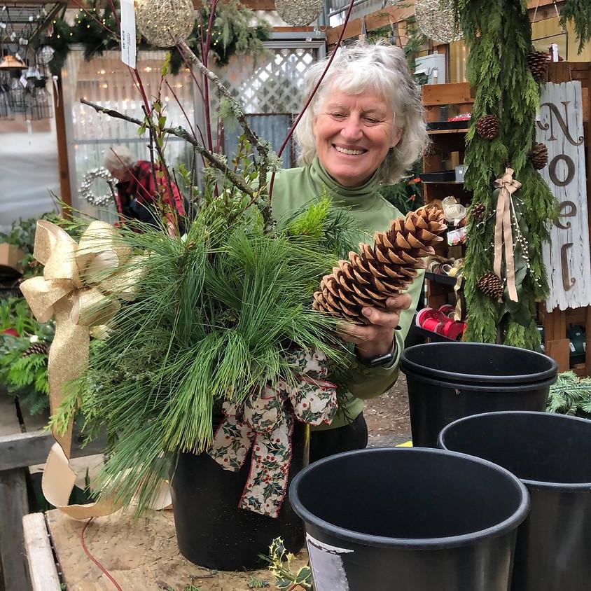 Make your own Porch Pot at The Garden Spot