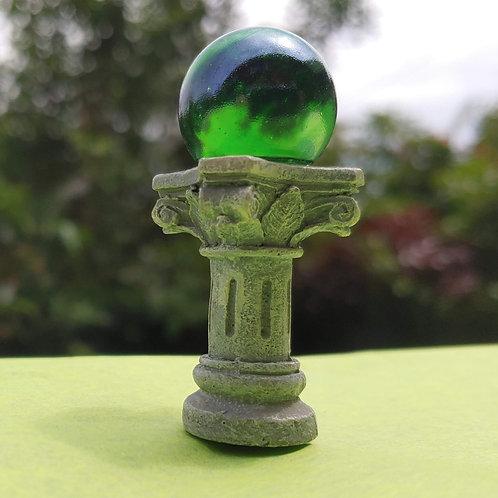 Figurine - Gazing Globe