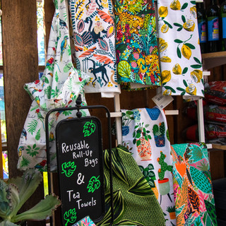 Tea Towels and Reusable Bags