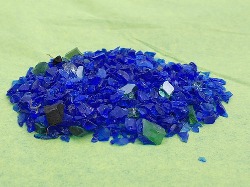 Glass - Blue Top Dressing
