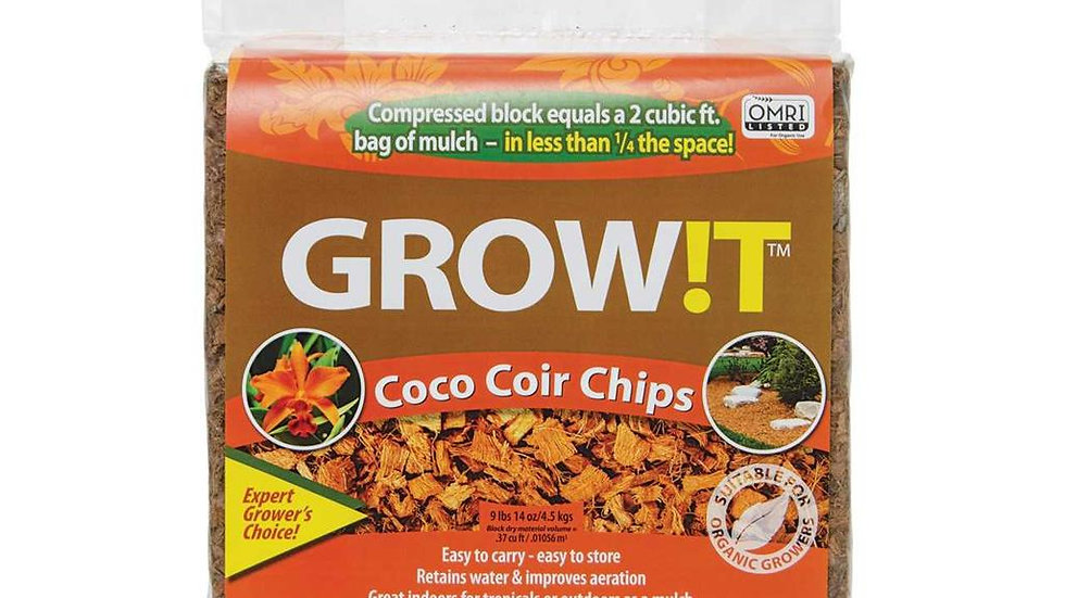 GrowIt Coco Coir Chips