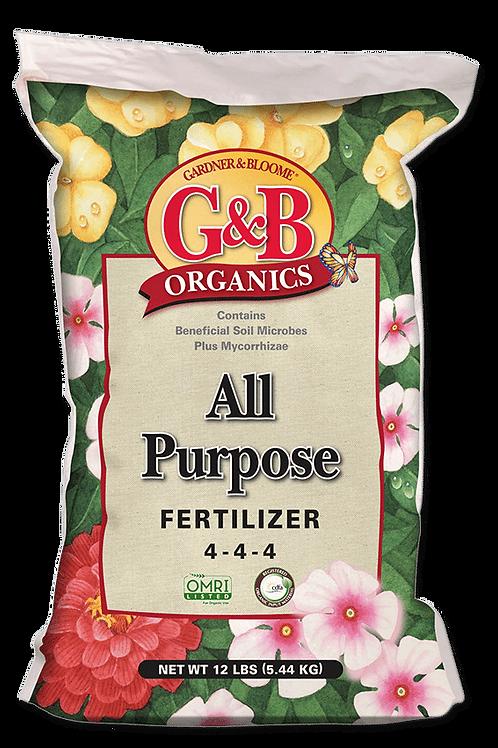 G&B All Purpose Fertilizer