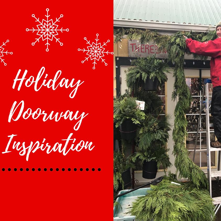 Holiday Doorway Inspiration