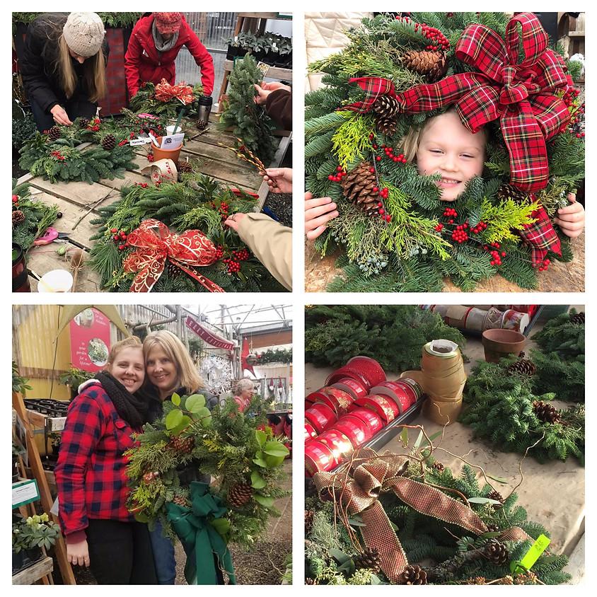 FULL! Evergreen Wreath Workshop