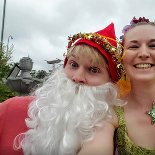Fairy Queen With Gnome