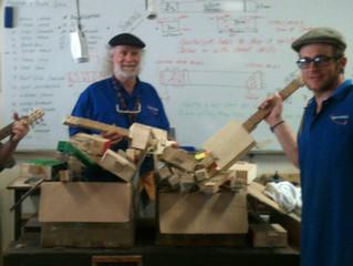 Instrument making on Mornington Island