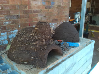 Building cob ovens and cajons @ Toowoomba YCLC