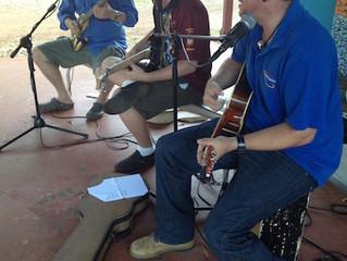 Mornington Island Concert preparation and workshops