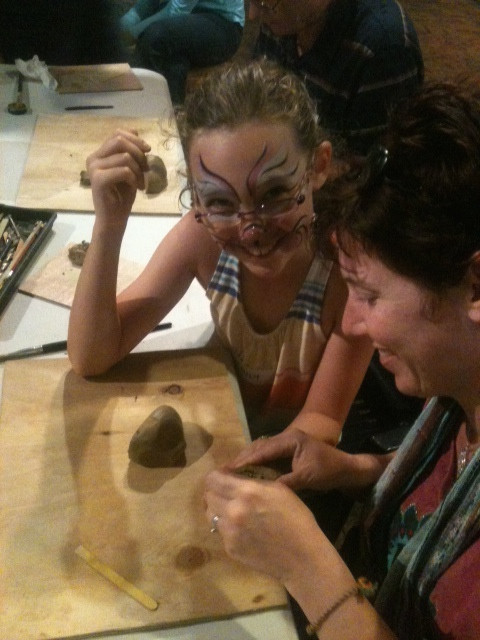 Making Ocarinas at Cobb and Co Museum