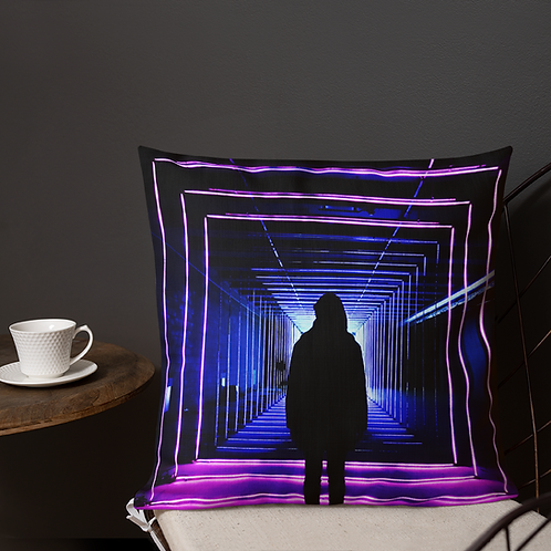 DW/Dj Kazo (Illusion) Premium Pillow