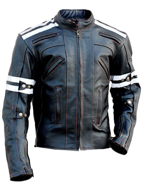 Mens - Red White Black Panels Jacket