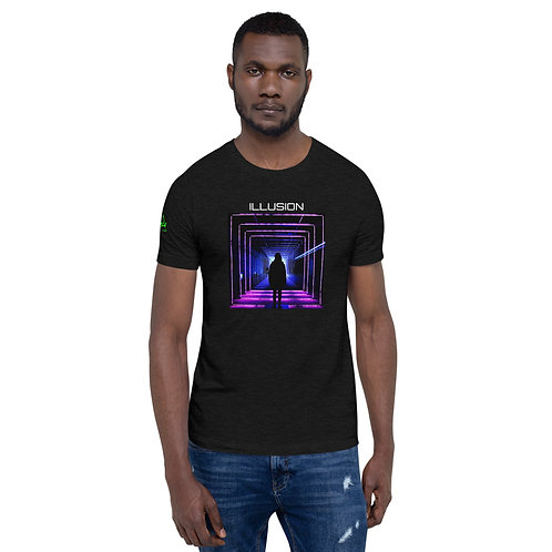 DW/DjKazo (Illusion) Short-Sleeve Unisex T-Shirt