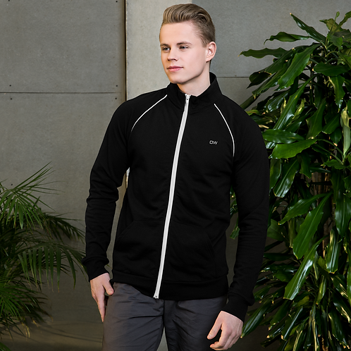 DW - (Smiley) Piped Fleece Jacket