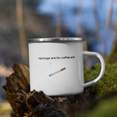 DW - (Morning) Enamel Mug