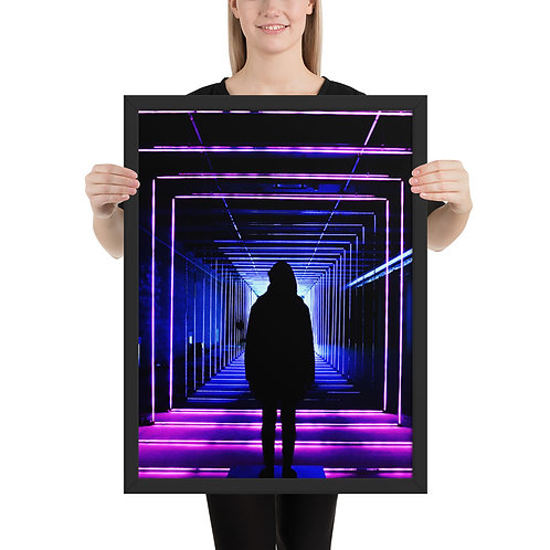 DW/Dj Kazo - (Illusion) Framed poster