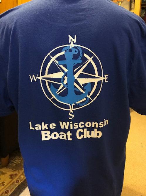 LWBC- Ladies Tee - Anchor Logo on Back Tee