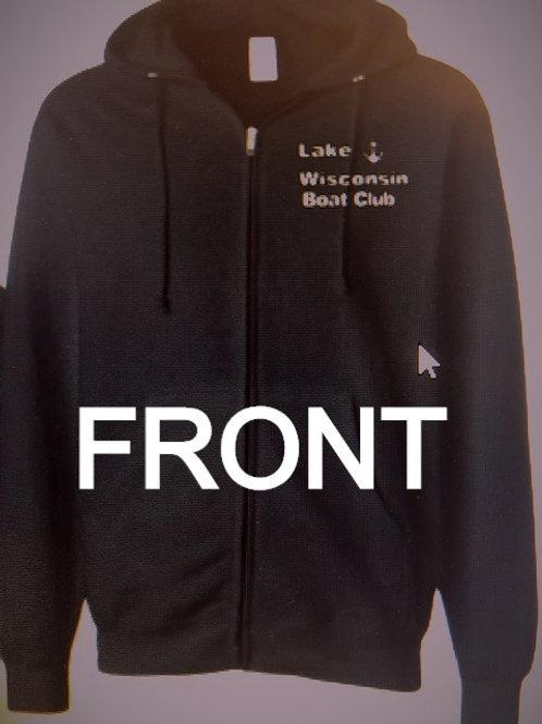 LWBC-Adult Logo'd Full Zip Sweatshirt
