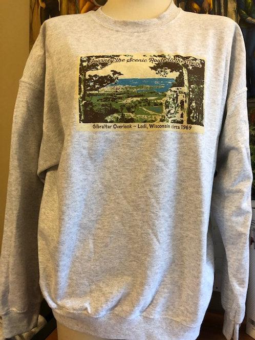 Crew Neck Gibraltar Overlook Sweatshirt