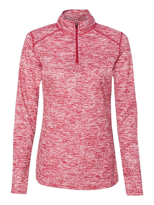 LWBC- Ladies Badger Blend 1/4 Zip Pullover