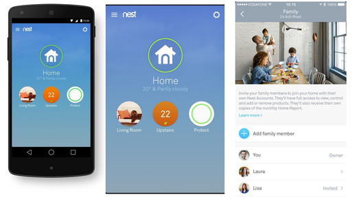 Home Connectivity and Control with Nest