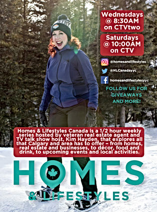 Homes & Lifestyly TV promo poster