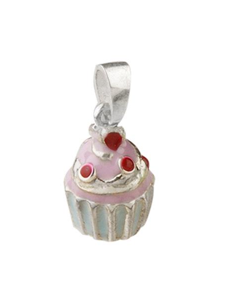 Cupcake cherrys pink