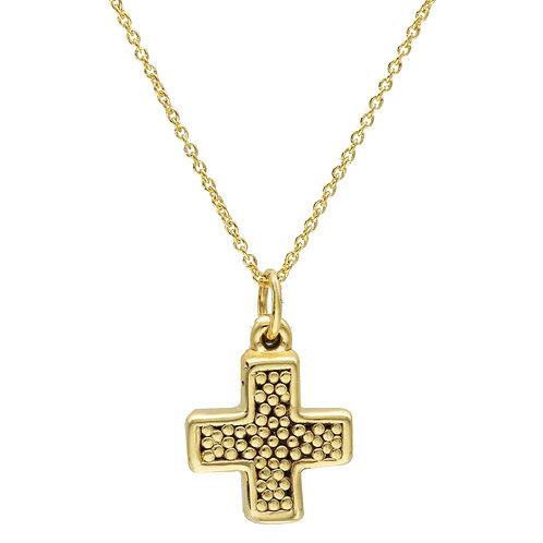 Mini cross gold
