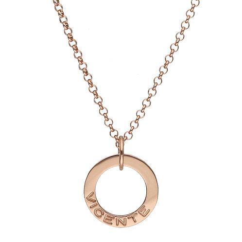 Gold mini circle