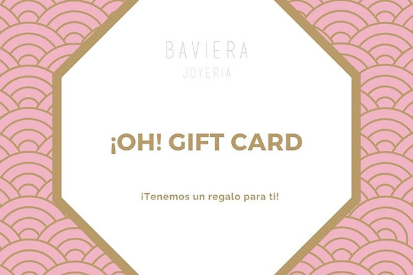 ¡Oh! Gift card