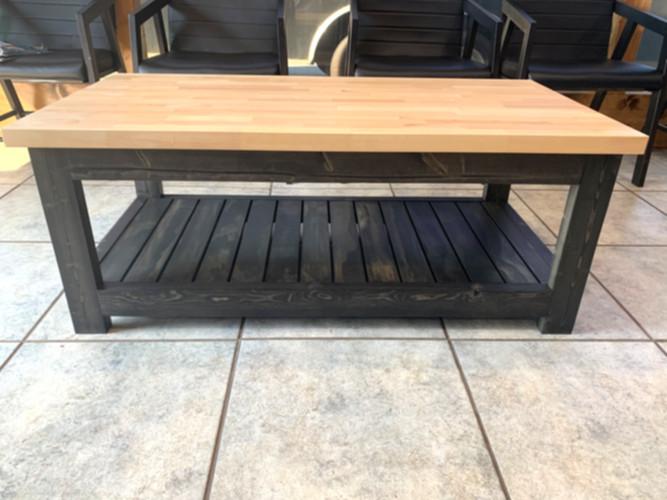 Waiting area coffee table
