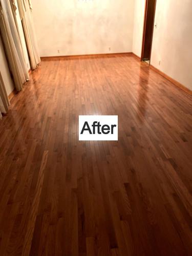 Finished Flooring Job