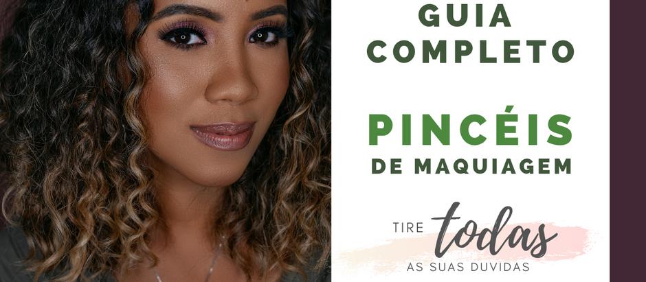 Guia completo dos PINCÉIS DE MAQUIAGEM (TUDO que você precisa saber!!)